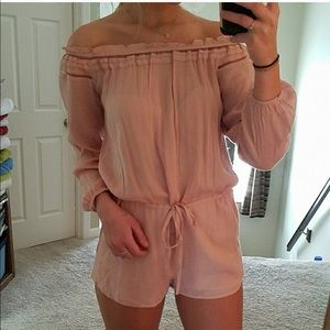 Lucca Pink Romper! Nordstrom! NWT